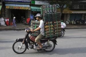 Overloading a Bike